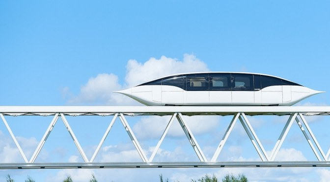 SkyWay. Die Tests der Trasse