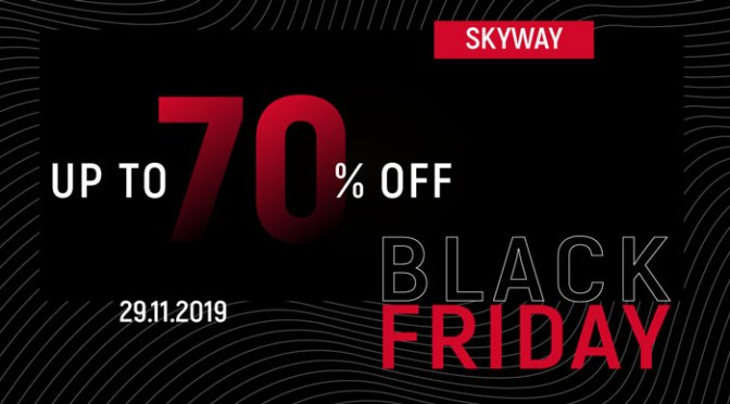SkyWay Black Friday mit bis zu 70% Rabatt am 29.11.2019