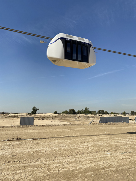 Fotos aus dem Innovationszentrum von SkyWay in Schardscha
