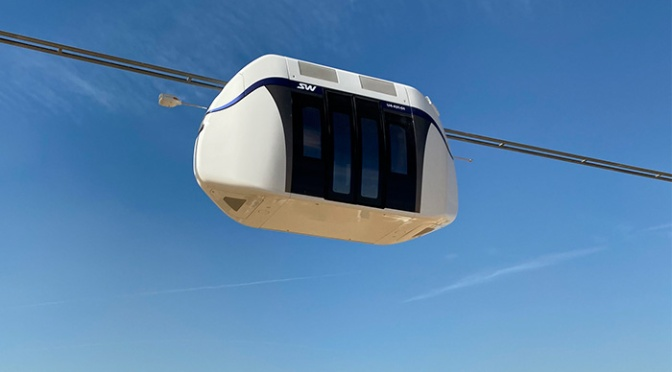 Fotos aus dem Innovationszentrum von SkyWay in Schardscha, VAE